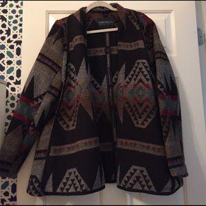 Southwestern coat