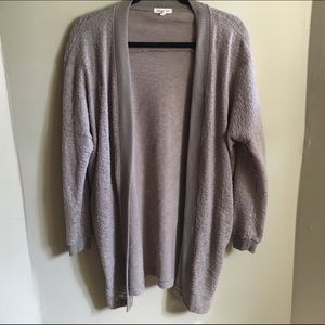 silence + noise Sweaters - Silence and noise cozy tan cardigan