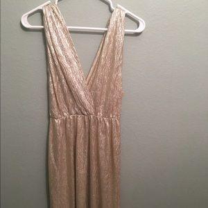 Alythea Dress Light Gold