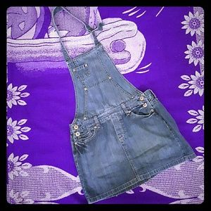 Old Navy Other - 💗OLD NAVY JEAN SKIRT JUMPER SIZE 6