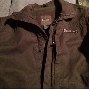 Aigle Other - Aigle 1853 Brown Heavy Duty Field Coat in Size M.