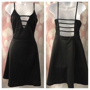 Hype Dresses & Skirts - Sexy Black Plunge Dress