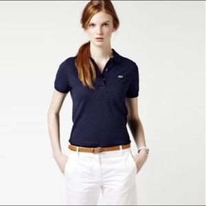 Lacoste Classic Slim Fit Navy Polo 36 S