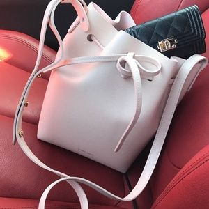 Mansur Gavriel Mini Rosa Bucket Bag