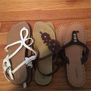 Target sandals (ALL THREE)