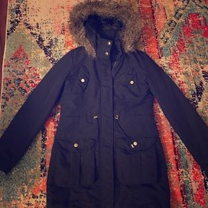 brave soul Jackets & Blazers - Navy Winter Coat - Moving Sale!