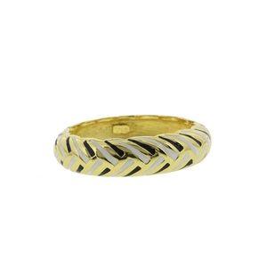KENNETH JAY LANE Gold-Plated Bangle Bracelet