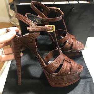 Yves Saint Laurent Shoes - NWT YSL Heel, size 39