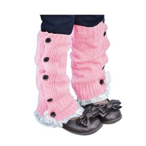 Other - Girls Knitted Leg Warmers