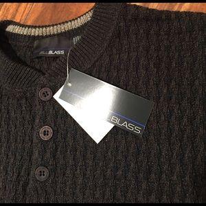 Bill Blass Other - Men's NWT Henley sweater. 😍