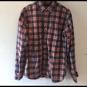 Lands' End Other - Lands' End flannel fitted shirt
