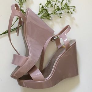 Cape Robbin Shoes - pink wedges by Cape Robbin