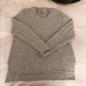 Grey Madewell Knit Sweater size S