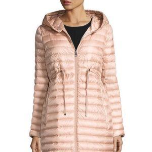Moncler Jackets & Blazers - Moncler Hooded Barbel Coat in Pink Blush