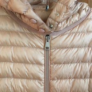 Moncler Jackets & Coats - Moncler Hooded Barbel Coat in Blush Pink
