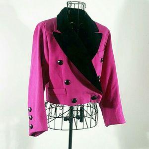 Escada Jackets & Blazers - ESCADA BEAUTIFUL VINTAGE ESCADA PINK BLAZER