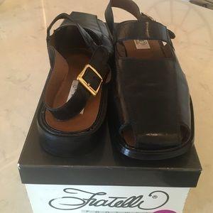 Fratelli Rossetti Other - Men's black sandals