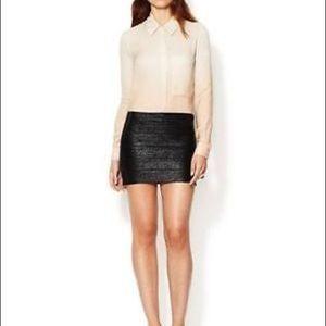 Haute Hippie Mini Bandage Clubwear Skirt