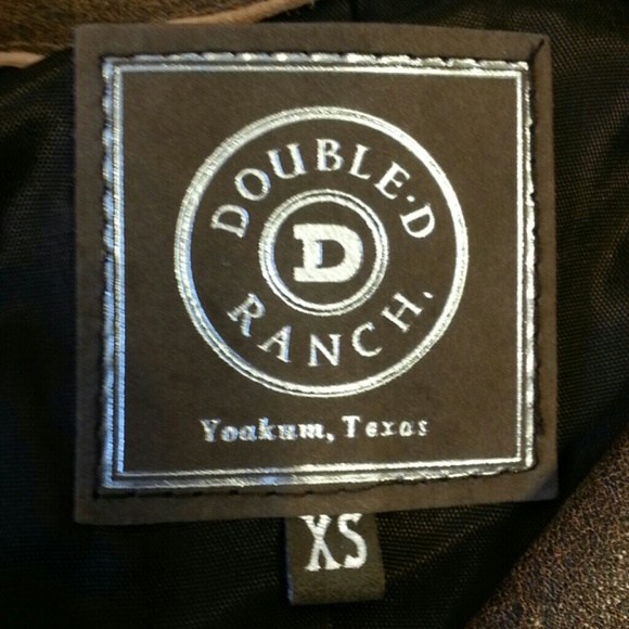 Double D Ranch Distressed Western Leather Vest