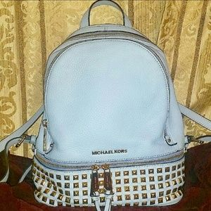 Michael Kors Handbags - Michael Kors studded backpack