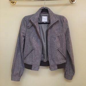Heritage Jackets & Blazers - Heritage Brown Tweed Coat with pockets size M