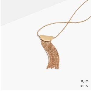 Madewell Nocturnal fringe necklace