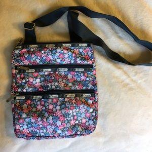 LeSportsac Handbags - Brand new Lesportsac Madison Frolic Blue bag