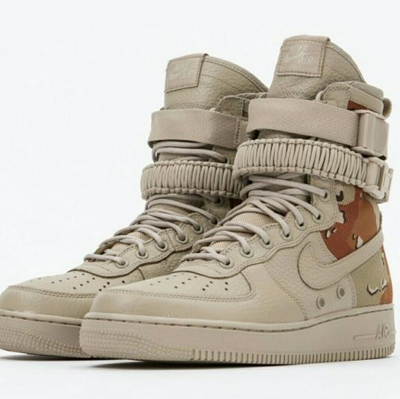 Nike Shoes | Nike Sf Af Desert Camo