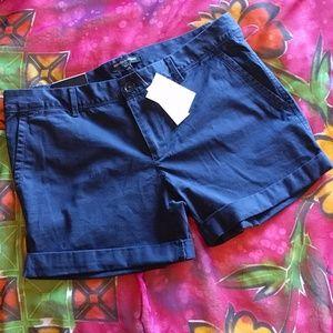 Banana Republic blue shorts size 8
