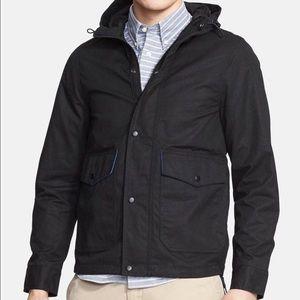 Jack Spade Other - MEN'S | Jack Spade Hooded Black Waxwear Jacket Lg