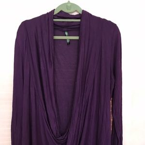 Rags and Couture Tops - Dark purple long sleeve
