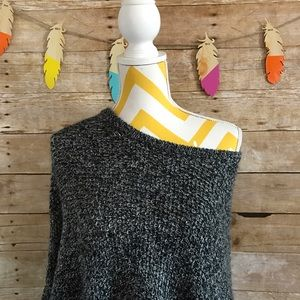 Mossimo Supply Co. Sweaters - Mossimo grey poncho