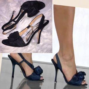 Badgley Mischka Shoes - Badgley Mischka Rosette heels NWOB 9.5 $210