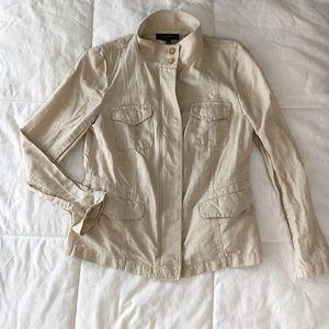 Talbots Jackets & Blazers - Talbots Khaki Military Style Jacket