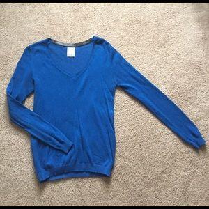 Pull&Bear Sweaters - Royal blue sweater- Pull&Bear