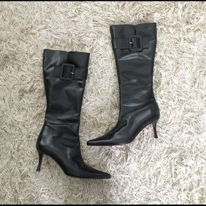 Black sexy boots