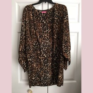 Body Central Tops - Body Central Leopard Print Kimono! ❤️