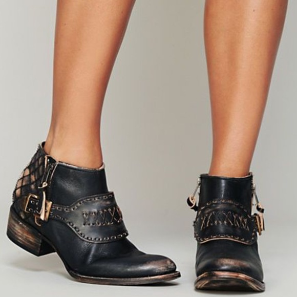 12 Off Free People Shoes Freebird Luxton Ankle Boot