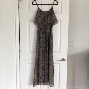 Karen Kane Dresses & Skirts - Karen Kane Snakeskin Print Maxi Dress