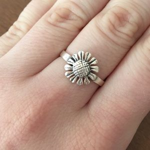 cape cod  Jewelry - Sterling silver sunflower ring