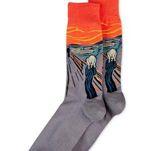 """Hot Sox Accessories - Edward Munch """"The Scream"""" HotSox"""