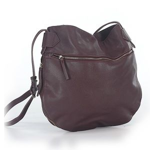 Zara burgundy bag