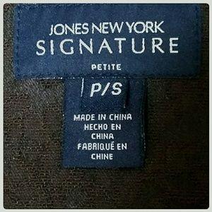 Jones New York Jackets & Coats - Jones New York Signature Jacket Brown Size PS
