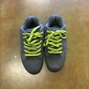 DC Other - Men's DC gray and green shoes