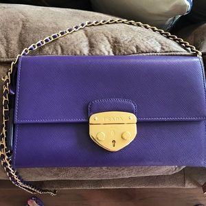 Prada Handbags - Prada wallet on a chain, Crossbody, beautiful rare
