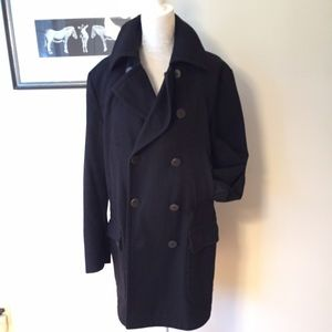 HUGO Other - HUGO Hugo Boss 3/4 length black pea coat Large