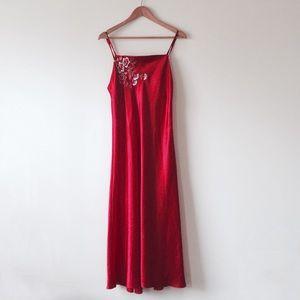 Oscar de la Renta Other - Oscar de la Renta red night gown