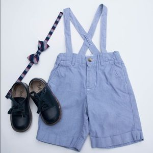 Janie and Jack Other - Janie and Jack Pinstriped Suspenders Size 18-24 M.