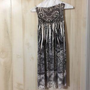 Christina Love Dresses & Skirts - Christina Love Medium strapless dress/ front beads