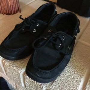 Sperry Shoes - Black Boat Shoes!